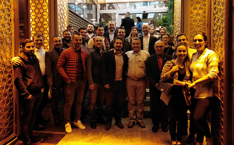 2019 DERKİM FAMILY FROM THE İFTAR DINNER